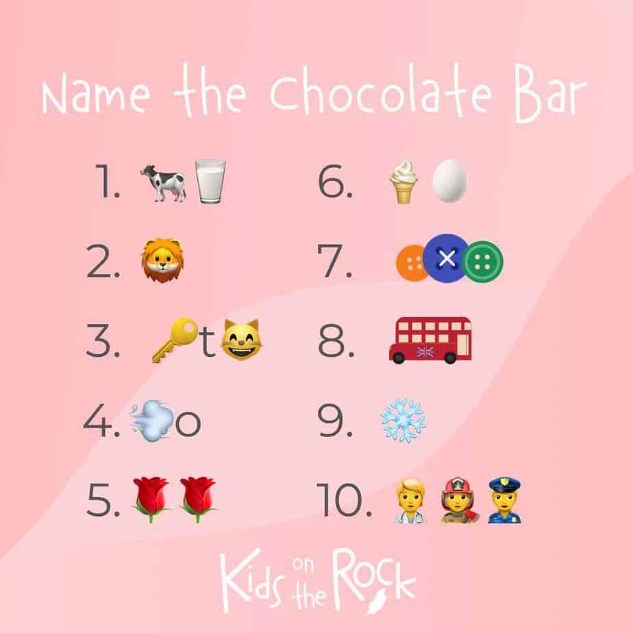 Chocolate Quiz